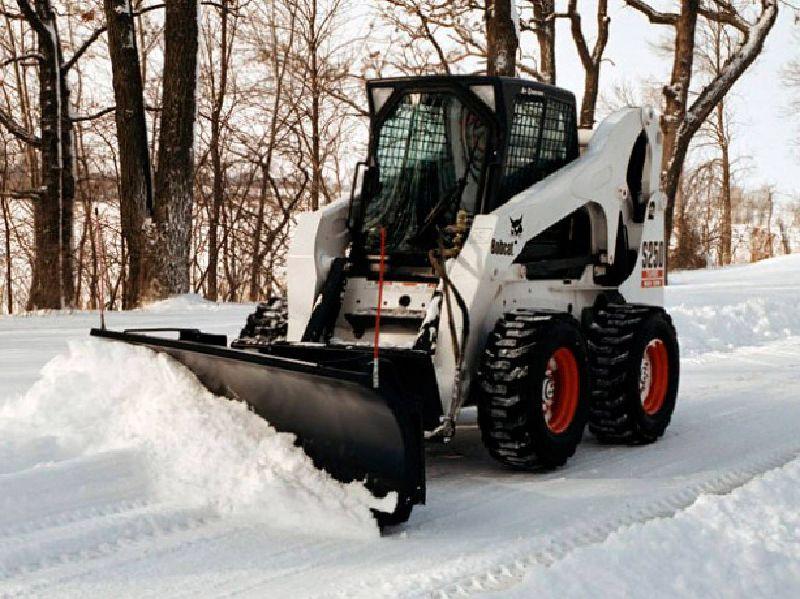 Цена уборки снега в новосибирске